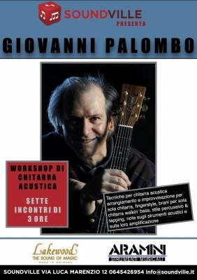 Workshop di chitarra fingerstyle a Soundville