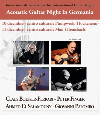 Acoustic Guitar Night