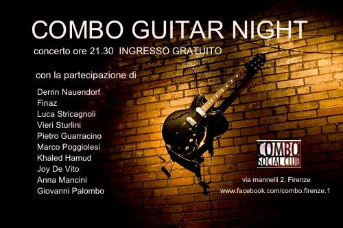 Combo Guitar Night